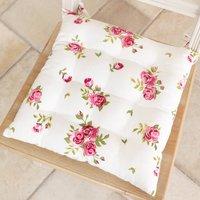 Belle Jardin Floral Tie On Seat Pads