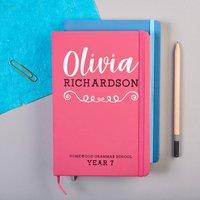 Personalised School Notebook