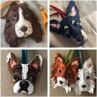 Handmade Personalised Felt Dog Decoration