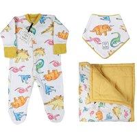 Personalised Luxury Dinosaur Baby Gift Set