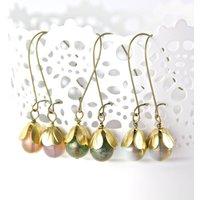 Vintage Style Tulip Earrings