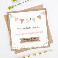 Engagement Card Personalised