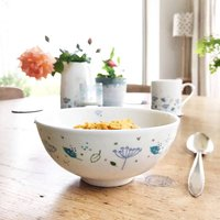 Blue Parsley Cereal Bowl