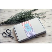 Happy Paper Stationery Box