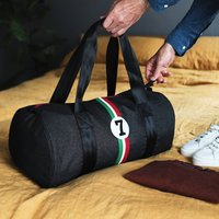 Upcycled Racing Car Sports Holdall