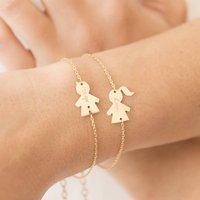 Personalised People Chain Bracelet