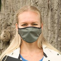 French Grey Sustainable Adult Reusable Face Mask