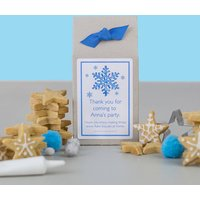 Frozen Snowflake Biscuit Baking Mix Acitivity Kit