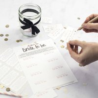 Bride To Be Hen Party Game