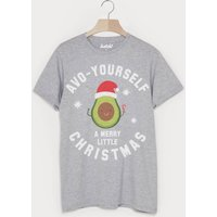 Avo Yourself A Merry Christmas Mens Avocado T Shirt