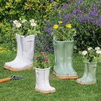 Welly Boots Garden Planter Collection