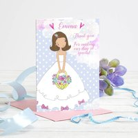 Personalised Bridesmaid / Flower Girl / Page Boy Card