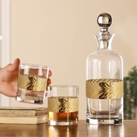 Personalised Whisky Decanter And Tumblers Gift Set