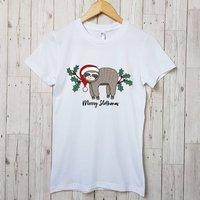Merry Slothmas Christmas T Shirt