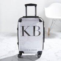 Personalised Marble Suitcase