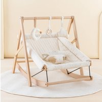 Beechwood Baby Bouncer And Honey Sweet Dots Cover