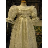 Christening Gown Princess Charlotte, Ivory