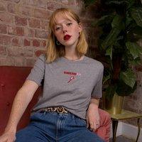 Embroidered Wonderwomum Super Mum T Shirt