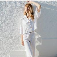 White Vilamoura Pyjama Set
