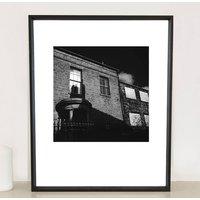 Chimney Reflection, Sheffield, Photographic Art Print