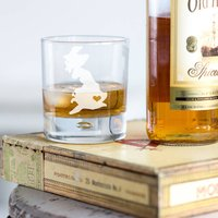 Home Is Where The Heart Is Whisky Tumbler