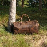 Genuine Leather Holdall
