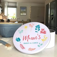 Personalised Cake Tin For Mum