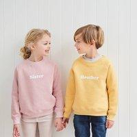 Faded Sunshine 'Brother' Sweatshirt