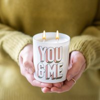 You And Me Scented Candle Gift