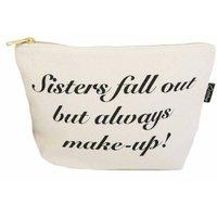 Sisters Make Up Or Toiletry Bag