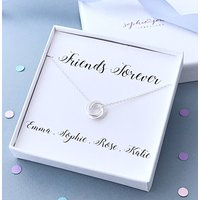 Personalised Friends Necklace