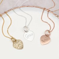 Recycled Silver Or 18ct Gold Personalised Necklace, Silver