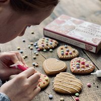 Gingerbread Hearts Biscuit Decorating Kit