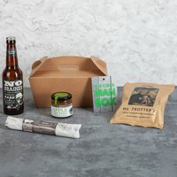 Man Box Cider And Snack Gift Box