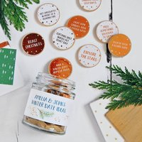Personalised Couples Winter Date Ideas Jar