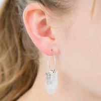 3D Owl Earrings, Silver/Gold
