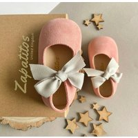 Rosa Silver Suede Baby Shoes With Keepsake Box