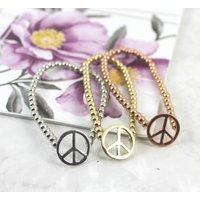 Peace Friendship Bracelet