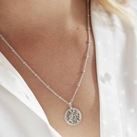 Sun Necklace For Life And Vitality Silver, Gold Vermeil, Silver