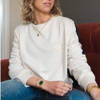 Embroidered 'Team Name' Varsity Sweatshirt