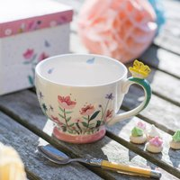 Butterfly Gift Boxed Teacup