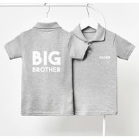 Personalised Big Brother Children's Polo Shirt