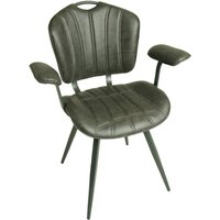 Austin Grey Set Of Two Carver Dining Chairs
