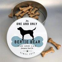 Personalised Dog Breed Tin 25 Dog Breeds Available