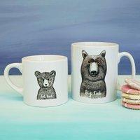 Personalised Big Cub Little Cub Mugs