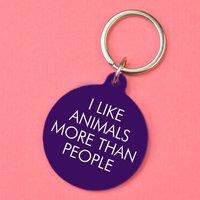 Animal Lover Key Tag
