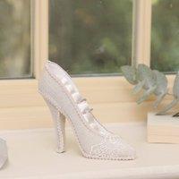 Bridal Lace Shoe Ring Holder
