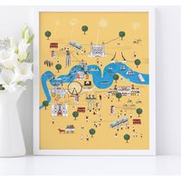 Personalised Totally Thames Print