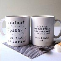 Bestest Daddy ... Personalised Mug