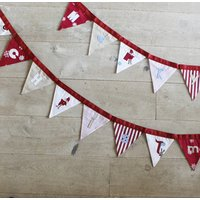 Merry Christmas Flag Bunting